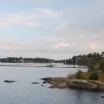 Vier Frauen, ein Fjord!