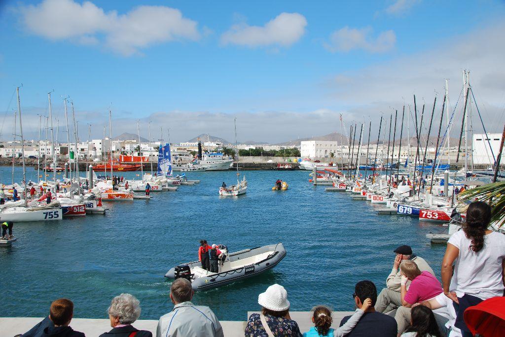 Lanzarote - Start Minitransat
