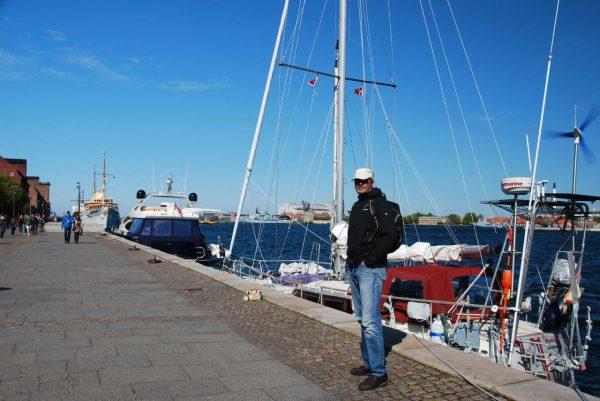 An der royalen Pier (Amalienhavn)