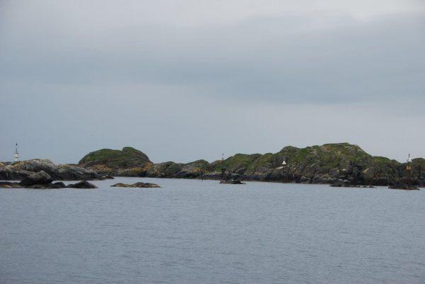 Hafenausfahrt Utsira