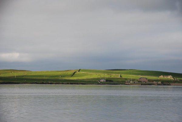 Bressay, gegenüber von Lerwick