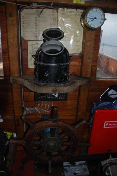 Der Kompass von 1940 musste kalibriert werden