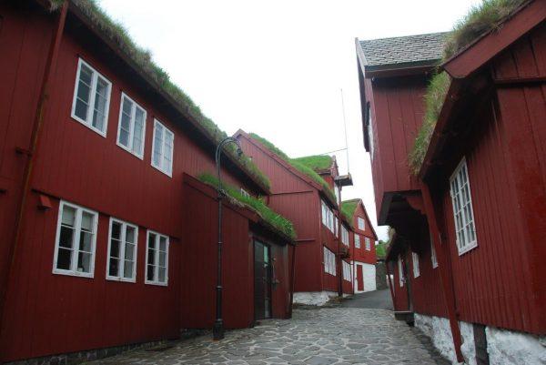 Regierungsviertel Torshavn