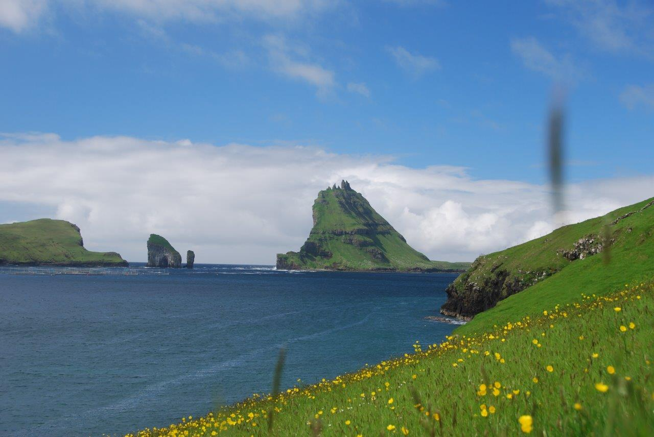 18 Inselchen im Nordatlantik