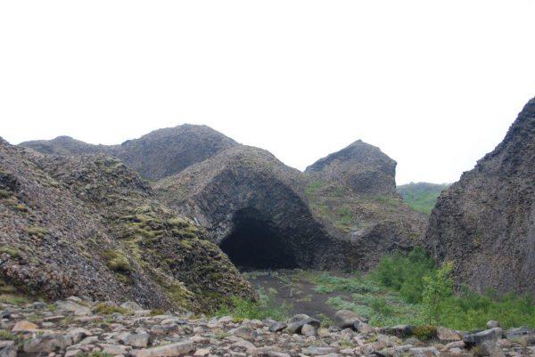 Kathedrale aus Basalt