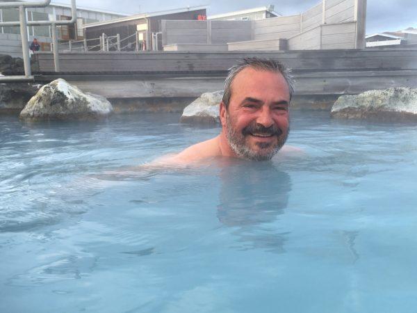 Myvatn Naturbad mit Skipper