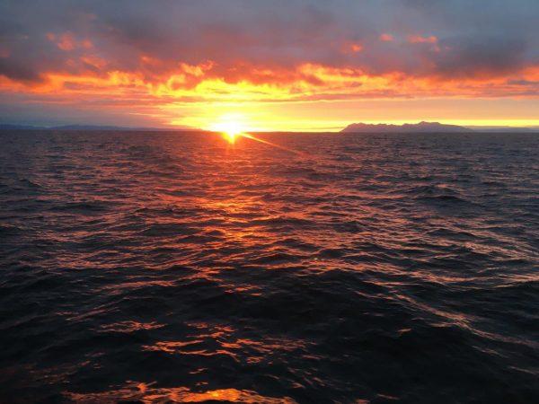eiegntlich Bild 1: Überfahrt nach Reykjavik