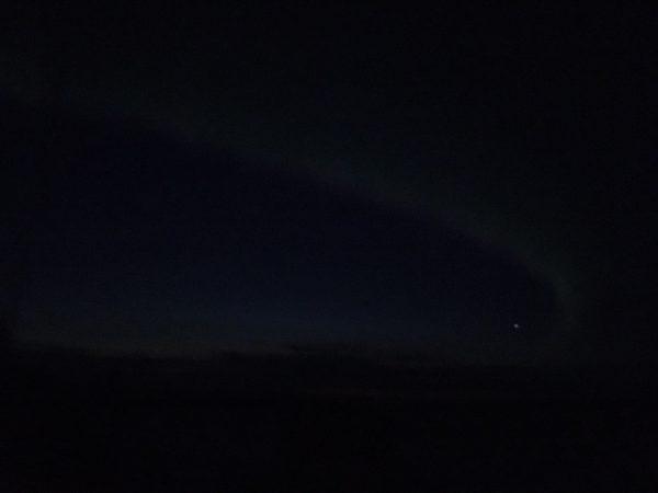 Fotoversuch Nordpolarlicht