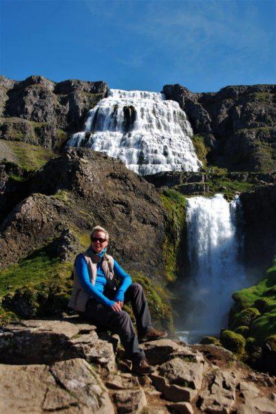 Dynandi-Wasserfall