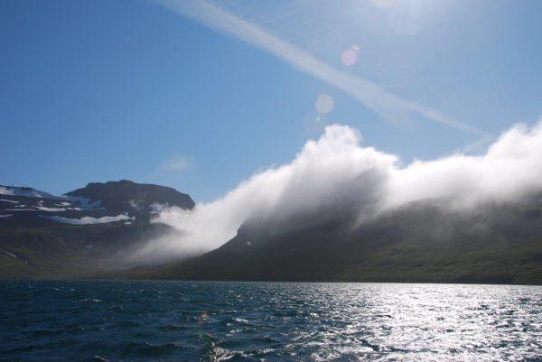 Nordfjorde, hinterm Horn