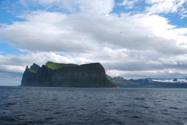 Kap Horn und Bucht Hornvik ganz im Nordwesten