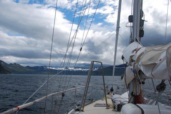 Buchtbesichtigung Hornvik