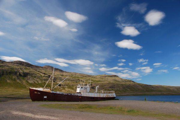 Islands ältestes Stahlschiff, BJ 1912 in Norwegen