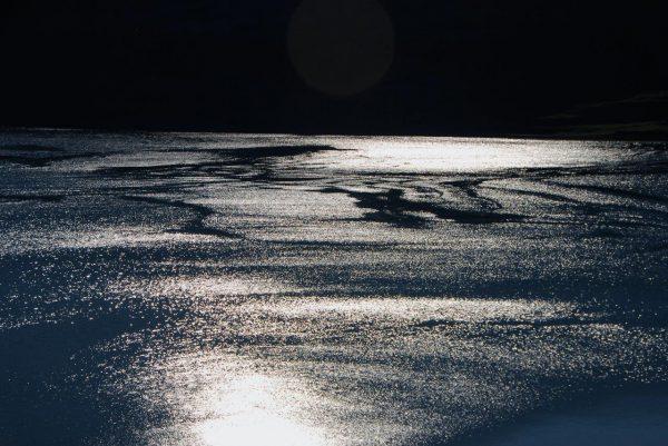 Abendlicht im Fjord