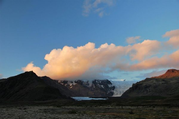 Abendstimmung überm Gletscher 3