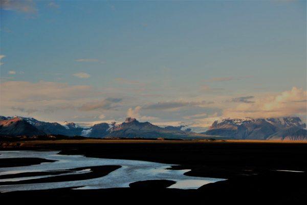 Abendstimmung überm Gletscher 2