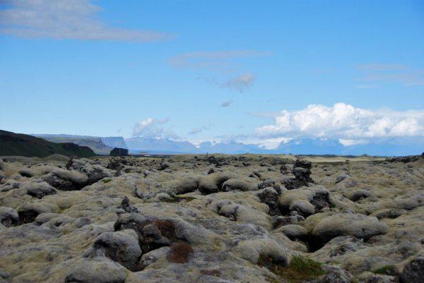 Lavafelder bis zum Horizont