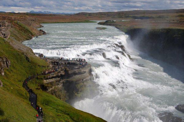 der goldene Wasserfall