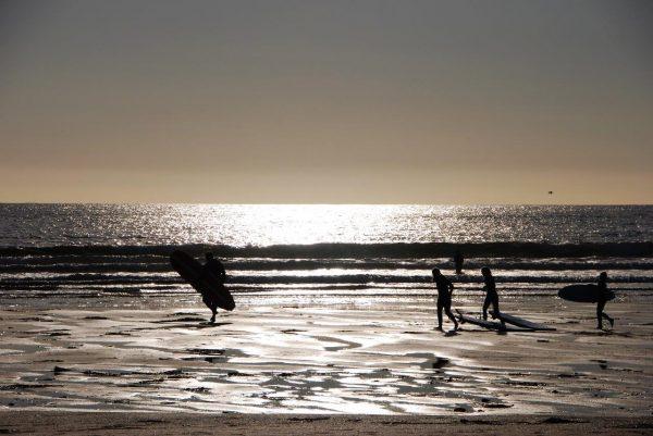 Surferstrand spanish point