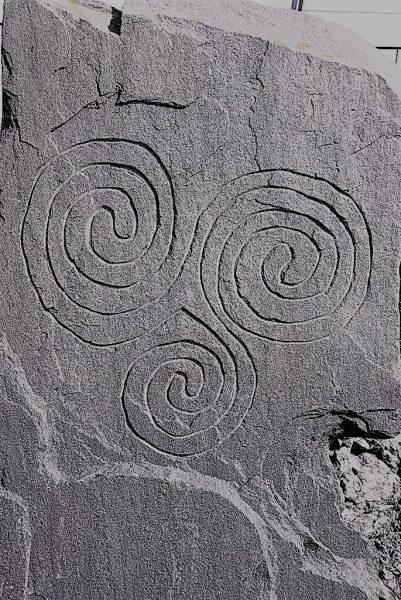 sieht man überall: keltisches Symbol