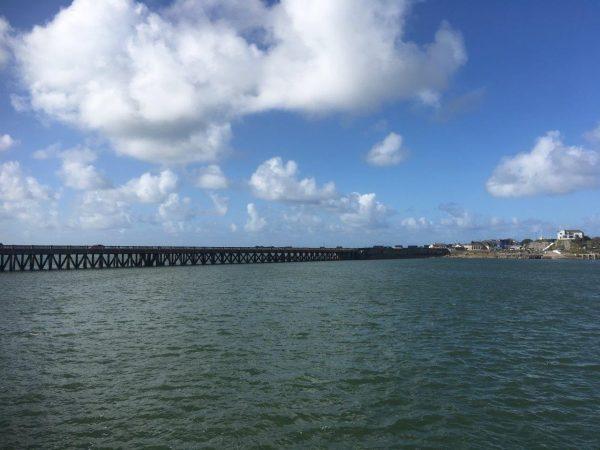 Viadukt zum Hafen