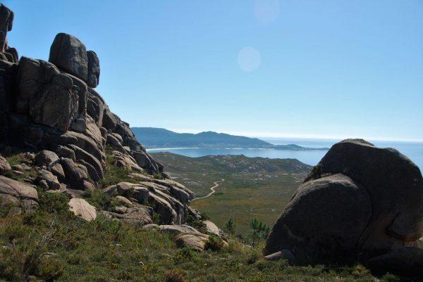 Monte Pindo, Aufstieg 3