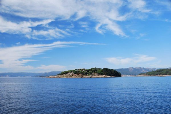 Insel im Ria
