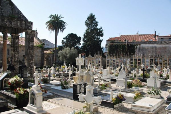 innerstädtischer Friedhof Noia