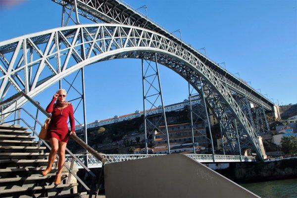 Ponte Luis I. - Eiffelkonstruktion