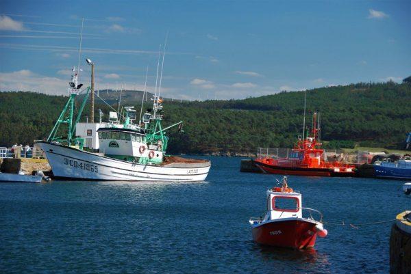 Fischerhafen in Camarinas