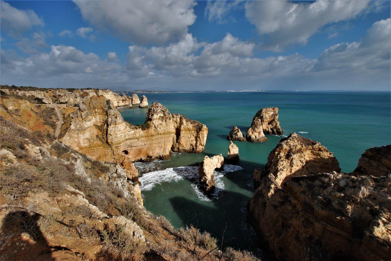 """Algarve und """"Enspennaug"""" in Lagos"""
