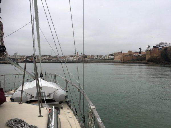 Hafeneinfahrt Bou Regreg