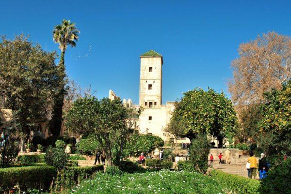 andalusischer Garten in der Kasbah