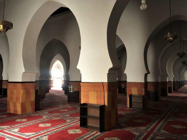 Blick in die große Moschee von Salé
