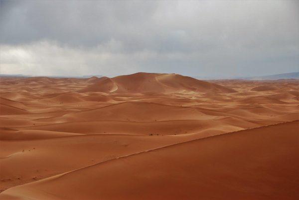 Blick von der großen Düne