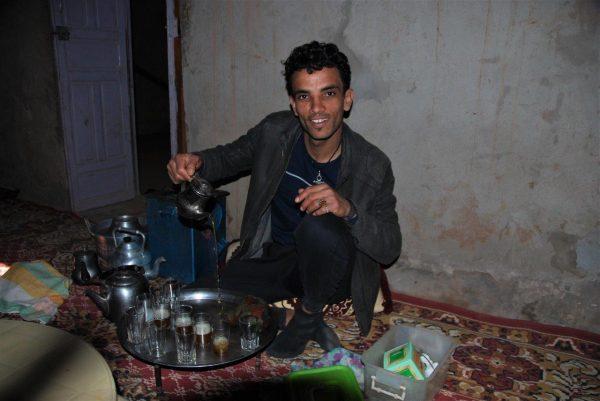 Teezeremonie von Mahud
