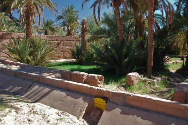 Bewässerungskanäle ohne Funktion