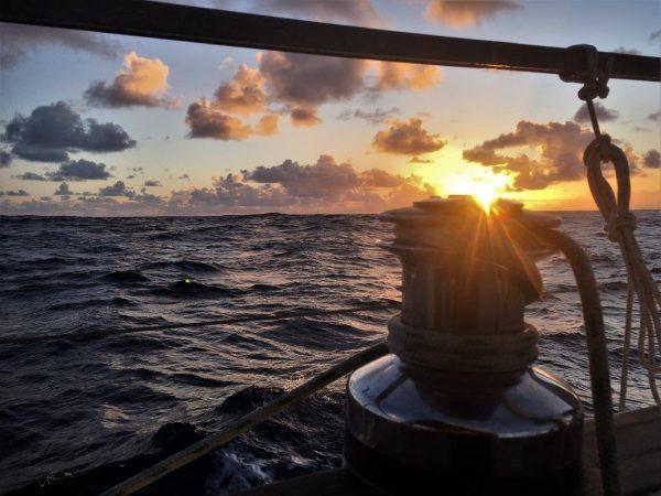 erster Sonnenaufgang