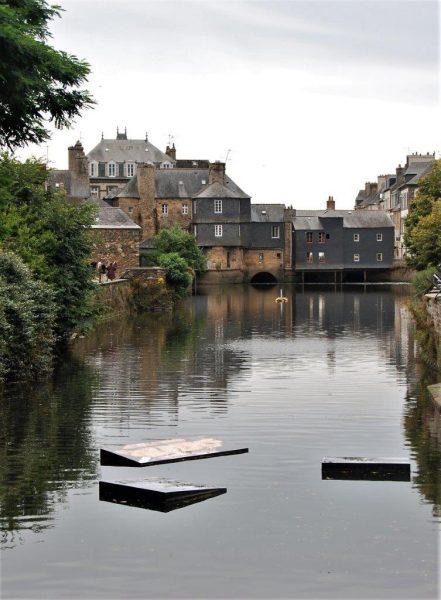 Open Air Galerie auf dem Wasser