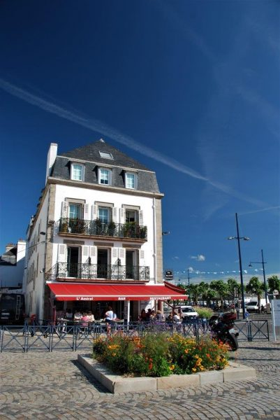 L'Amiral, Dupins Lieblingsrestaurant