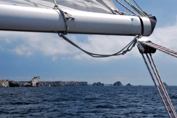 kurz vor Camaret Sur Mer
