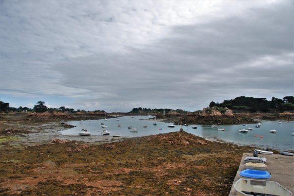 Hafenrampe Ile de Brehat