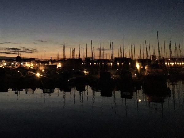 Concarneau bei Nacht