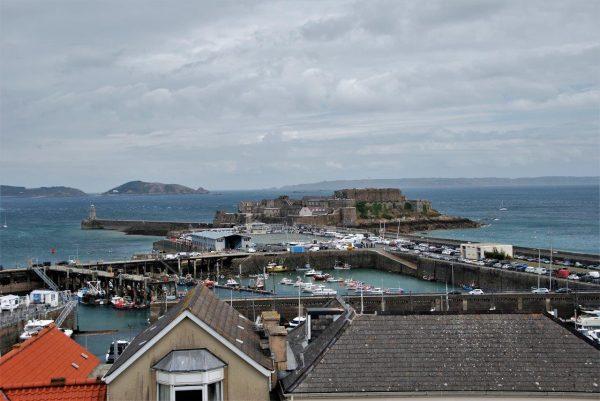 Hafen von St. Peter Port auf Guernsey