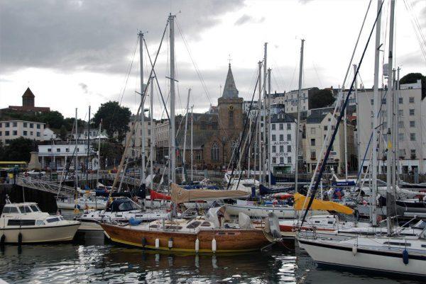 Stadthafen von St. Peter Port