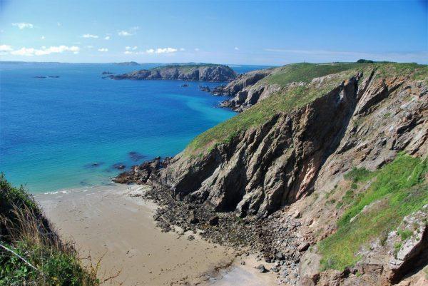Blick Richtung Guernsey