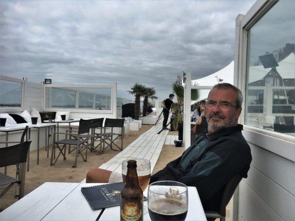 belgisches Bier in der Beachbar