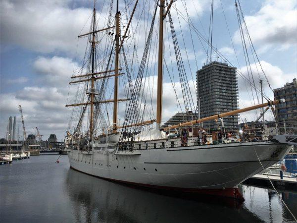 Windjammer Mercator im Stadthafen