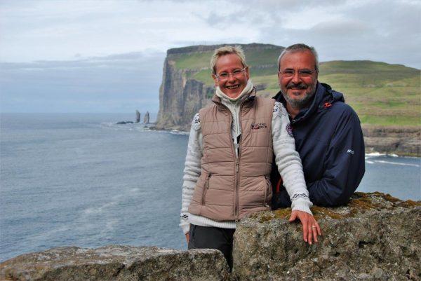 am Nordkap der Färöer