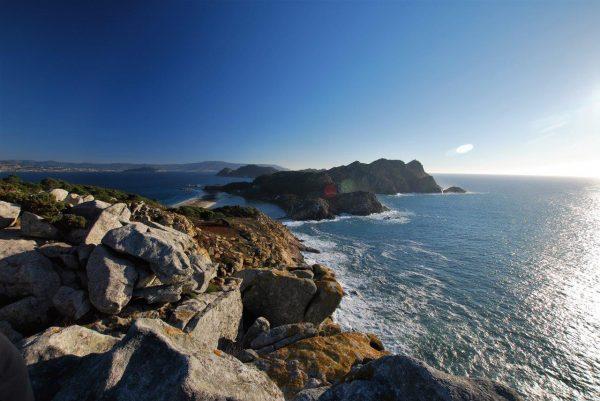 Ilsa de Cies, eine der galizischen Naturschutzinseln